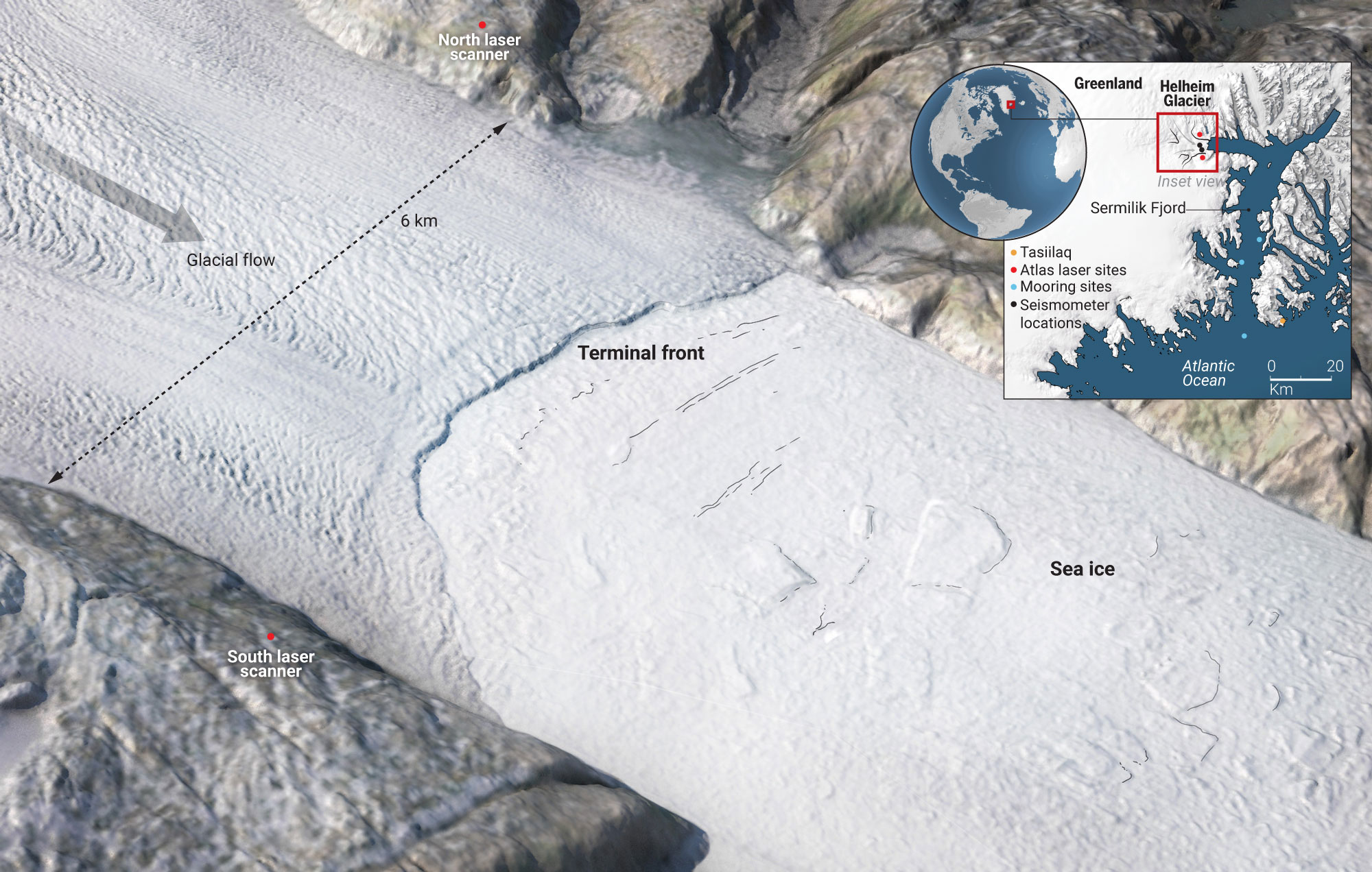Greenland's dying ice